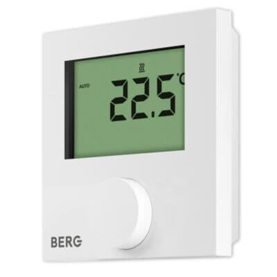Цифровой непрограммируемый термостат с дисплеем BERG BT30-230